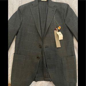 Boglioli Milano K Jacket Cotton Wool Size 50 IT